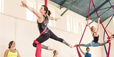 Aerial Silks with The Indytute @Peckham 2020