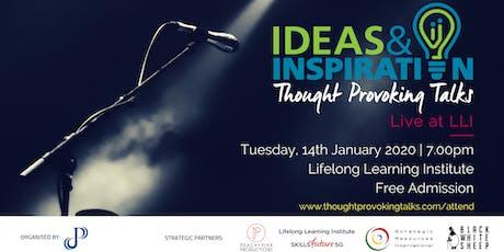 Ideas & Inspiration: Live at LLI (January 2020) tickets