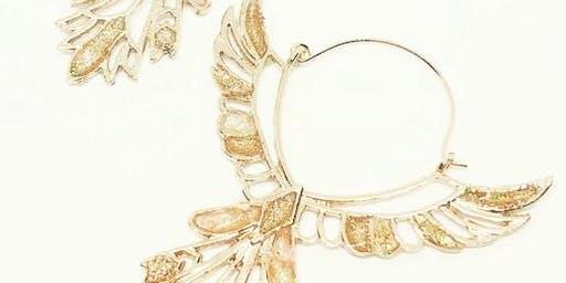 Egyptian Inspired Resin Jewellery