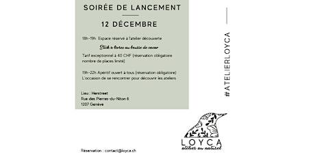 Soirée de lancement des Ateliers LOYCA - Ateliers de cosmétiques naturels billets