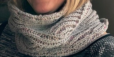 Big Waves Brioche Cowl (2-colour Brioche Knitting Workshop) tickets