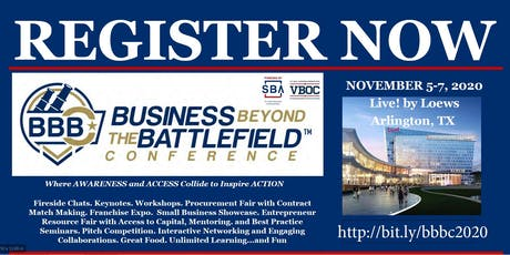 BBBC20 - Business Beyond the Battlefield tickets
