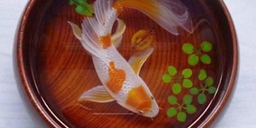 3D Resin Koi Fish Trinket Bowl Adult Workshop