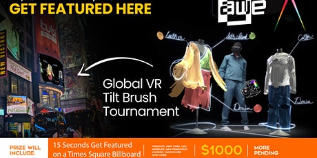 Launch for the Global Tilt Brush Art Tournament, Gallery, and Party tickets