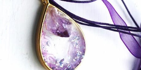 Semi Precious Floating Crystal Jewellery Adult Workshop tickets