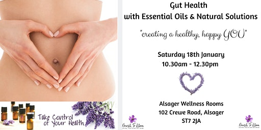 Gut Health with Essential Oils & Natural Solutions