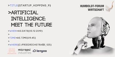 Startup Hopping IX   Artificial Intelligence
