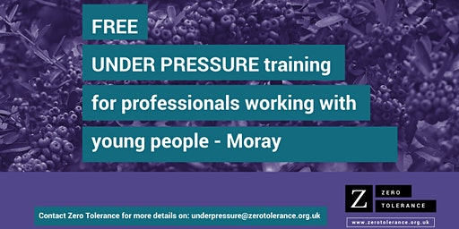 Under Pressure Training for Youth Workers - Moray