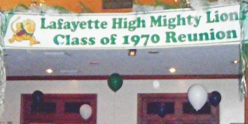 LHS 1970 - 50th Reunion  Lafayette, La.