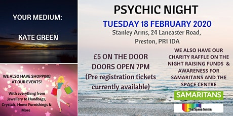 Psychic Night @ Stanley Arms tickets