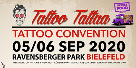 "Tattoo Convention Bielefeld ""TattooTattaa Tickets"