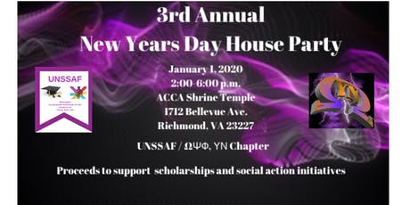 3rd Annual New Years Day House Party tickets