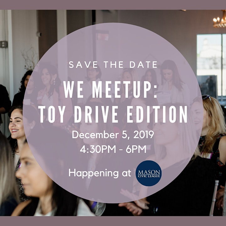 WE Meetup: Toy Drive Edition image