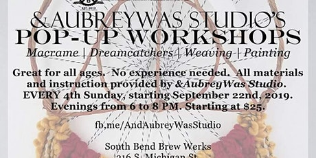 Pop-up Workshop at SBBW: Harry Potter Wall Hangings tickets
