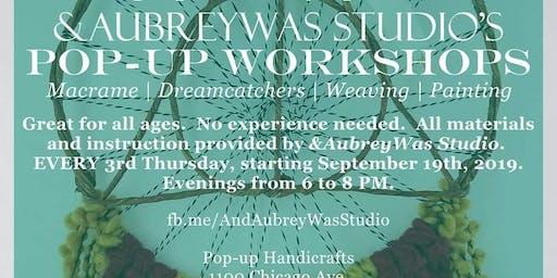 Pop-up Workshop at Pop-Up Handicrafts: Harry Potter Wall Hanging