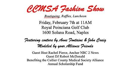 CCMSA Fashion Show tickets
