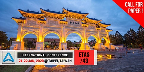 43th International Conference on Engineering, Technology and Applied Science (ETAS-43) tickets