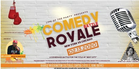 """Comedy Battle Royale """"New York vs. Chicago"""" tickets"""