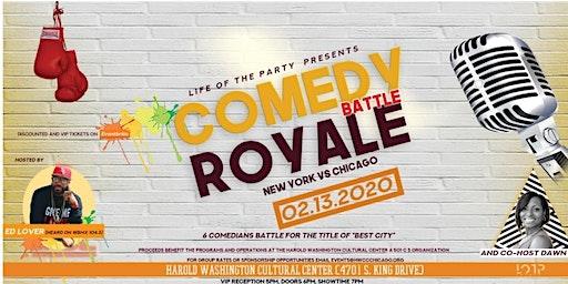"Comedy Battle Royale ""New York vs. Chicago"""