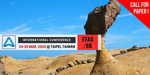 50th International Conference on Engineering, Technology and Applied Science (ETAS-50)