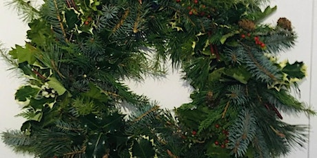 Christmas Wreath Making Workshop with Audrey Forrester tickets