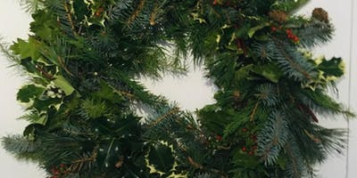Christmas Wreath Making Workshop with Audrey Forrester