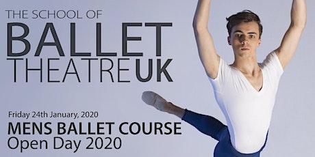 Men's Ballet Course Open Day 2020  tickets
