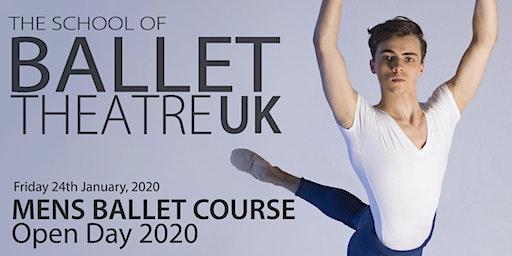 Men's Ballet Course Open Day 2020