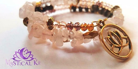 Beaded bracelet workshop – perfect for Christmas tickets