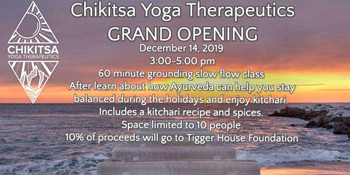 Chikitsa Yoga Therapeutics Grand Opening