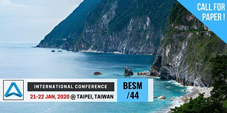 44th International Conference on Business, Education, Social Science, and Management (BESM-44) tickets
