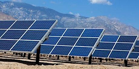 Installations solaires photovoltaïques billets