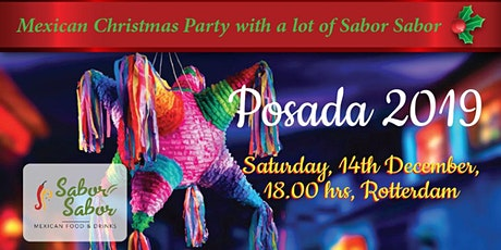 Posada Navideña /Christmas Party Sabor Sabor 2019 entradas