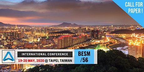 56th International Conference on Business, Education, Social Science, and Management (BESM-56) tickets