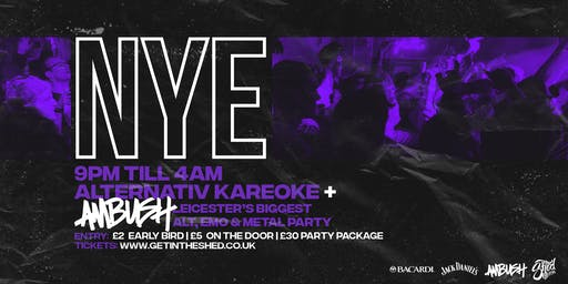 New Years Eve // The Shed // 31.12.2019