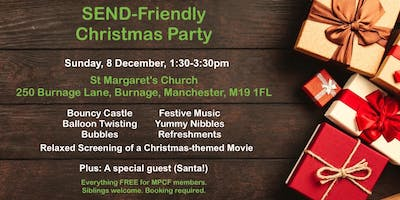 SEND-Friendly Christmas Party