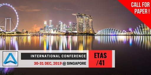41th International Conference on Engineering, Technology and Applied Science (ETAS-41)