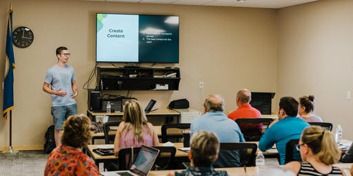 Honing a Website Strategy - Lunch & Learn