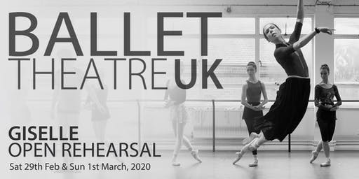 Ballet Theatre UK - Giselle, Open Rehearsal