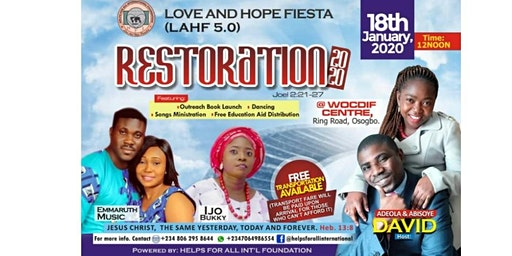 LOVE AND HOPE FIESTA 5.0