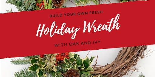 Holiday Wreath Workshop at Lemon Danville            THURSDAY, DECEMBER 5TH