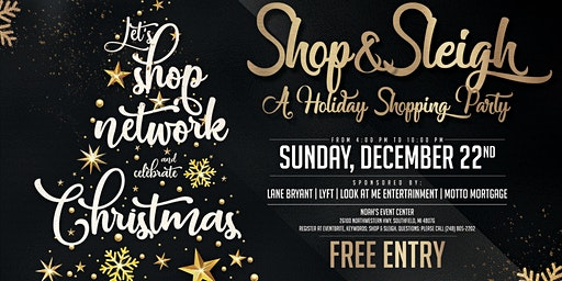 Shop & Sleigh Holiday Soiree