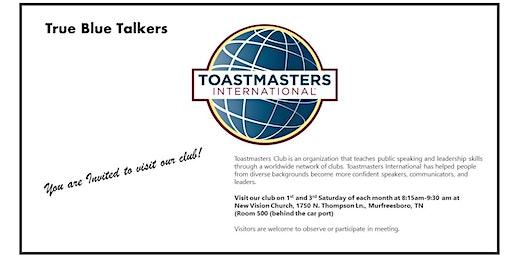 True Blue Talkers Toastmasters Club