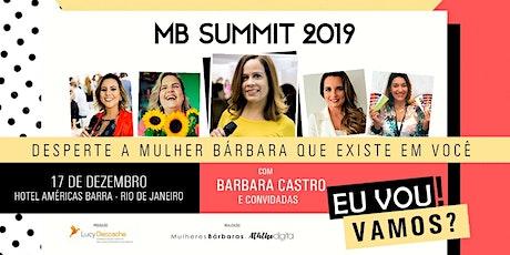 MB SUMMIT 2019 - DESPERTE A MULHER BÁRBARA QUE EXISTE EM VOCÊ tickets