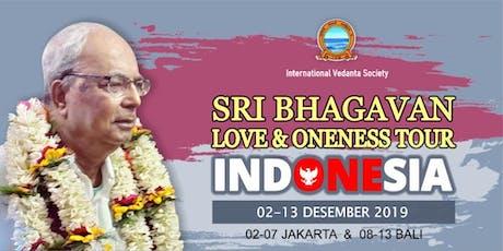 LOVE & ONENESS TOUR (BALI) tickets