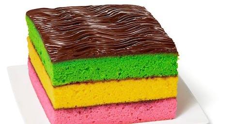 Rainbow Cookie Class at Soule' Studio