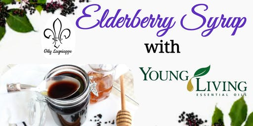 Elderberry Syrup with Young Living Essential Oils