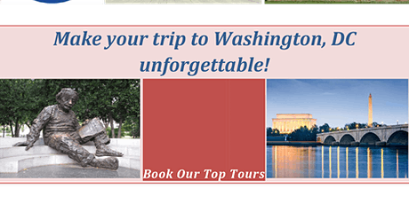 Unique Washington DC Private Sightseeing (Transportation included) tickets