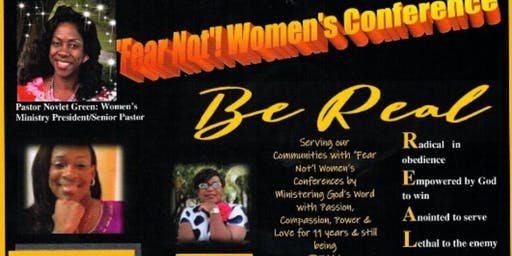 Fear Not! Women's Conference