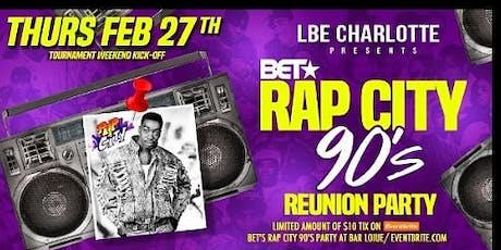 BET's Rap City 90's Party at Bar Louie tickets